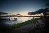 The Shore - 12 Nov 2017 - 02.jpg (ibriphotos) Tags: pylons alloa benlomond sunset stirlingcastle stirling riverforth theshore sky graffiti alloaharbour evening goldenhour harbour sunsets