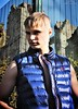 (Klinikle) Tags: male model blonde fitness sport style fashion casual forest nature castle body warmer bodywarmer