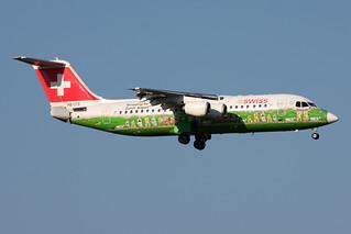 Swiss International Air Lines BAE Systems Avro 146-RJ100 HB-IYS