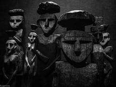 Chemamull (Museo Chileno de Arte Precolombino) (Eugercios) Tags: chemamul persona madera wood escultura sculpture arte art mapuche araucania araucano arauco america pueblo people southamerica sudamerica iberoamerica hispanoamerica bw bnw blanco branco black white negro preto museo precolombino