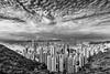 The perfect View (**capture the essential**) Tags: 2017 birdsview central hongkong kowloon panoshot panorama panoramaview panoramablick peak sonya7m2 sonya7mii sonya7mark2 sonyfe2470mmf4zaoss sonyilce7m2 thepeak victoriaharbour vogelperspektive wanchai vonoben schwarzweiss mono monochrome