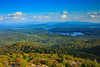 St. Regis Summit (phonnick) Tags: stregis saranaclake adirondacks mountain hills valley hike hiking trail lake trees vista forest canon6d canon 6d water firetower landscape sky clouds