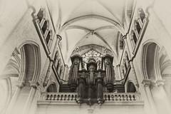 St Antoine L'Abbaye.JPG (DIGITALAIN) Tags: eglise orgues sepia