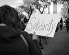 Solidarity (ep_jhu) Tags: corazon x100f hearts washington march jonesact acros puertorico fuji bw pr unitymarchforpuertorico dc fujifilm solidarity districtofcolumbia unitedstates us ec17 explore