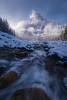Winter's Touch (mattymeis) Tags: banff national park canada alberta river stream waterfowl lake fall sunrise atmosphere mountain ice matt meisenheimer nikon water
