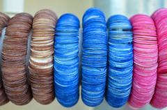 Debatable Colours [Cres - 12 August 2017] (Doc. Ing.) Tags: 2017 losinj croatia summer seaside cres bracelets shop kvarnergulf kvarner blue pink brown
