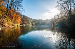 Szmaragdowe jesiennie.jpg (MichalKondrat) Tags: natura szczecin liście zachodniopomorskie niebo pejzaż jezioroszmaragdowe krajobraz jezioro drzewa 1020mm jesień nikond300s polska przyroda woda poland województwozachodniopomorskie pl