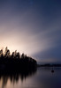 Lights and Stars (Mikko Manner) Tags: night low light long exposure stars lake lakescape woods finland landscape nature hirvensalmi reflection mist nikon d7200 tamron 18400