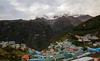 Namche Bazar  2 oct _02_mediu (Valentin Groza) Tags: himalaya nepal everest base camp trek trail namche bazar hinku himal ri kongde landscape mountain