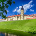 Renowned Nesvizh Castle as an Example of Medieval Ages Heritage and Residence of the Radziwill Family