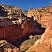 Towering Cliff Walls of the Grand Wash (Capitol Reef National Park)