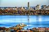 New York City from NJ (jsleighton) Tags: new york city skyline hudson river jersey landscape