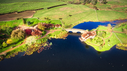 The Water Mill In Hobbiton