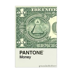 the color of money (brescia, italy) (bloodybee) Tags: pantone cards colors colormatch match thecolorofmoney movie film cinema money dollar bill banknote one 1 paper stilllife square green