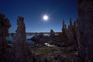 Moonrise at Mono Lake, California