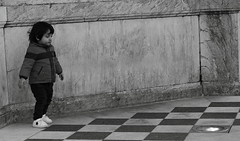 Checkmate (N.Hell) Tags: kid street photography black white bw monochrome canon 50mm