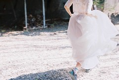 (Hsien hui Tsai) Tags: tawian tainan film filmphotography photography nikon nikonem em kodak kodak200 kodakcolorplus bride white pastel softcolor run 2017