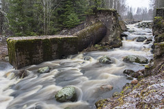 Grey day at rapid. by Joni.R - Went to check out nice little rapid called hammonkoski which is a part of hammonjoki.