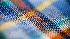 Depth of field (Persian.Gulf) Tags: fabric detail abstract depthoffield colours reverselens canon 700d 18135