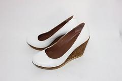 Белые кожаные туфли на танкетке (azzafazzara) Tags: туфли обувь кожа белый