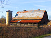Barn (Beckie Fitzgerald) Tags: barn tinroof metalroof silo rust fence netennessee greencounty