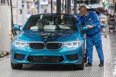 Megkezdték az új BMW M5 gyártását (autoaddikthu) Tags: autó bmw bmwm5 jármű kocsi m