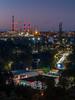 Night city (Dan_Vel) Tags: poland polska city gdansk pomorze night dark longexposure cityscape lightstream color colour lights tele