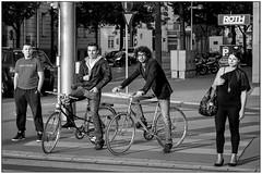 People and bicycles-7 (vzotov.doc) Tags: monochrome pictures siti street europe fujifilm xpro1 xf35mmf1 4 vladimir zotov