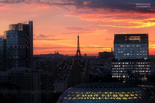 Sacré-Coeur, Tour Eiffel & Seine Musicale, Paris