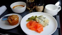 Domestic Business Class In-flight Meal - Qantas (Matt@PEK) Tags: qantasairways oneworld businessclass inflightmeal