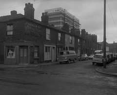 Negative No: 1965-2205 - Negatives Book Entry: 15-06-1965_Education_College of Music CPO_Property for CPO (archivesplus) Tags: manchester england 1960s townhallphotographerscollection shop cars fordanglia