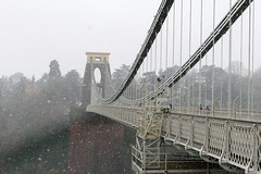 DSC_1516 (d0mokun) Tags: bristol england unitedkingdom gb winter snow clifton suspension bridge kingdom brunel architecture