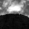 In Canyons 168 (noahbw) Tags: d5000 nikon utah zionnationalpark abstract autumn blackwhite blackandwhite bw canyon cliffs clouds desert landscape monochrome natural noahbw rock sky square stone silhouette