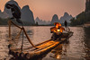 Cormorant Fisherman (davecurry8) Tags: xingping china liriver cormorantfisherman