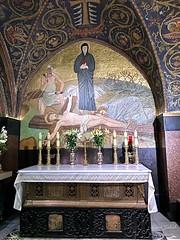 94 - Golgota a Szent Sír templomban / Kalvária v Bazilike Božieho hrobu