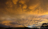 Gold (James Dun) Tags: christmas clouds sky sunset colours orange yellow panorama nikon d7000 december weather rain storms brisbane queensland australia