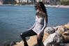_DSC4165 (Adriano Clari) Tags: wife girl woman moglie donna portrait ritratto persone outdoor esterno wind vento glamour mare lensbaby