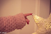 touching the light (Felicis_Flower) Tags: stern star light licht portrait hand fingers finger smileonsaturday xmasdeco