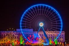 Place Bellecour - Fête des Lumières 2017 (patrickburtin) Tags: