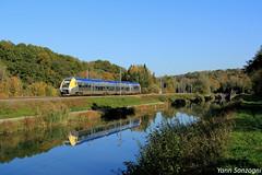 Côté vanille (Lion de Belfort) Tags: chemin de fer agc zgc bourgogne z 27500 doubs branne clerval rochelesclerval