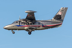 Czech Air Force / Let410 / 2601 / EBBR 25R (_Wouter Cooremans) Tags: ebbr bru brusselsairport zaventem spotting spotter avgeek aviatio aviation airplanespotting czech air force let410 2601 25r czechairforce