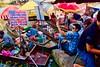 Amphawa floating market in Samut Songkhram province, Thailand (UweBKK (α 77 on )) Tags: amphawa floating market samut songkhram province mae klong river thailand southeast asia food boats sony alpha 77 slt dslr