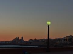 Entre chien et loup (Iris@photos) Tags: espagne andalousie cadix plage crépuscule sunset