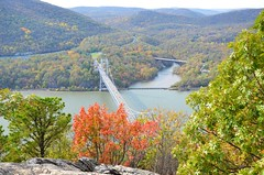 Bear Mountain Bridge (Joe Shlabotnik) Tags: october2017 newyork bridge 2017 hudsonriver anthonysnose bearmountainbridge river fall autumn afsdxvrzoomnikkor18105mmf3556ged