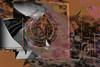 Espiral con patos (seguicollar) Tags: círculo espiral imagencreativa photomanipulación art arte artecreativo artedigital virginiaseguí photocomposición abstracción abstracto bodegón patos rosa pink gris
