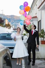 Enlace de Juan y Maira (Photo Valdueza) Tags: boda up novios globos novia enlace original de peli enamorados