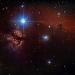 Horsehead Nebula & Flame  Nebula thumbnail