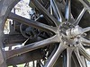Restored cannon wheel (DannyAbe) Tags: cannon worldwari rochester wheel monument