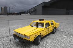 LEGO Chevrolet Caprice (dirtzonemaster) Tags: lego technic chevrolet caprice classic 89 nyc taxi lugpol yellow cab car fullsizesedan full size sedan newyork city town moc own creation 1989 suspension technicbrick liftarm brick bricks v8 engine fake america usa gm