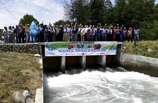 Celebración del comienzo de la temporada de riego en Ñuble